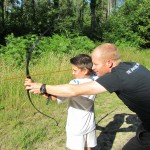 Archery and school holiday activities in Creech Woods